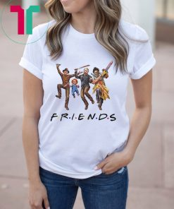 Horror Characters FRIENDS Halloween T-Shirt