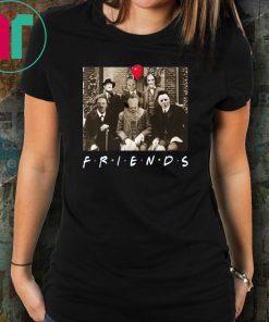 Horror Characters Friends shirt