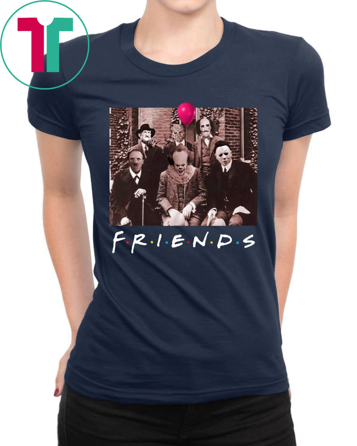 Halloween Friends Shirt.Horror Halloween Team Friends Shirt Tee Shirt Reviewshirts Office