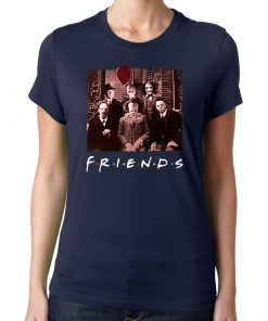 Horror Halloween Team Friends Tee Shirt