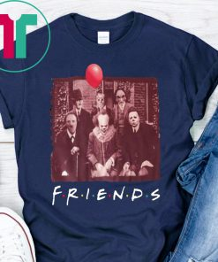 Horror Movie Characters Friends TV Show 2019 T-Shirt