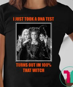 I Just Took A DNA Test Turns Out I'm 100% That Witch Tee Shirts