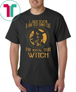 I Just Took A Dna Test Turns Out I'm 100 Percent That Witch Funny Gift T-Shirt