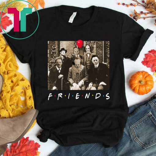 Psychodynamics Horror Characters Friends Unisex T-Shirt