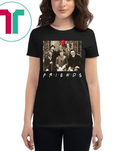 Psychodynamics Horror Characters Friends Halloween T-Shirt