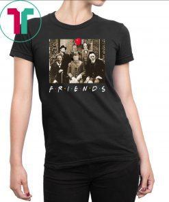 Womens Psychodynamics Horror Characters Friends Classic Funny T-Shirt