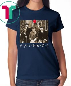 Official Psychodynamics Horror Characters Friends Shirt