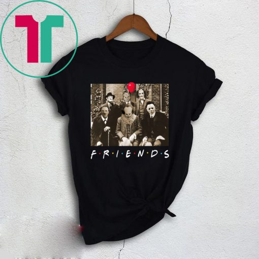 Psychodynamics Horror Characters Friends T-Shirt
