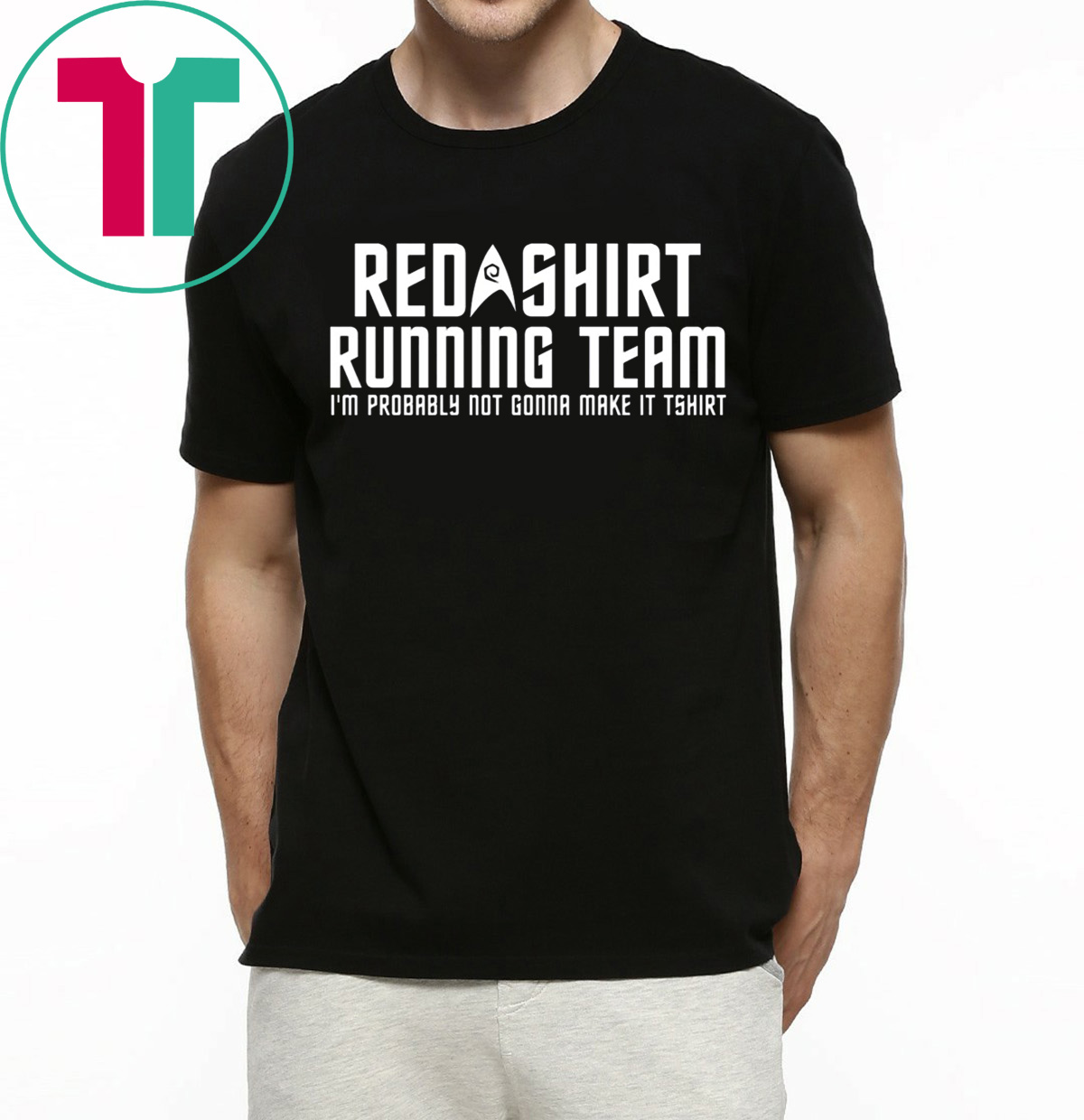 buy online 72564 e0c87 Red shirt running team I'm probably not gonna make it tee shirt
