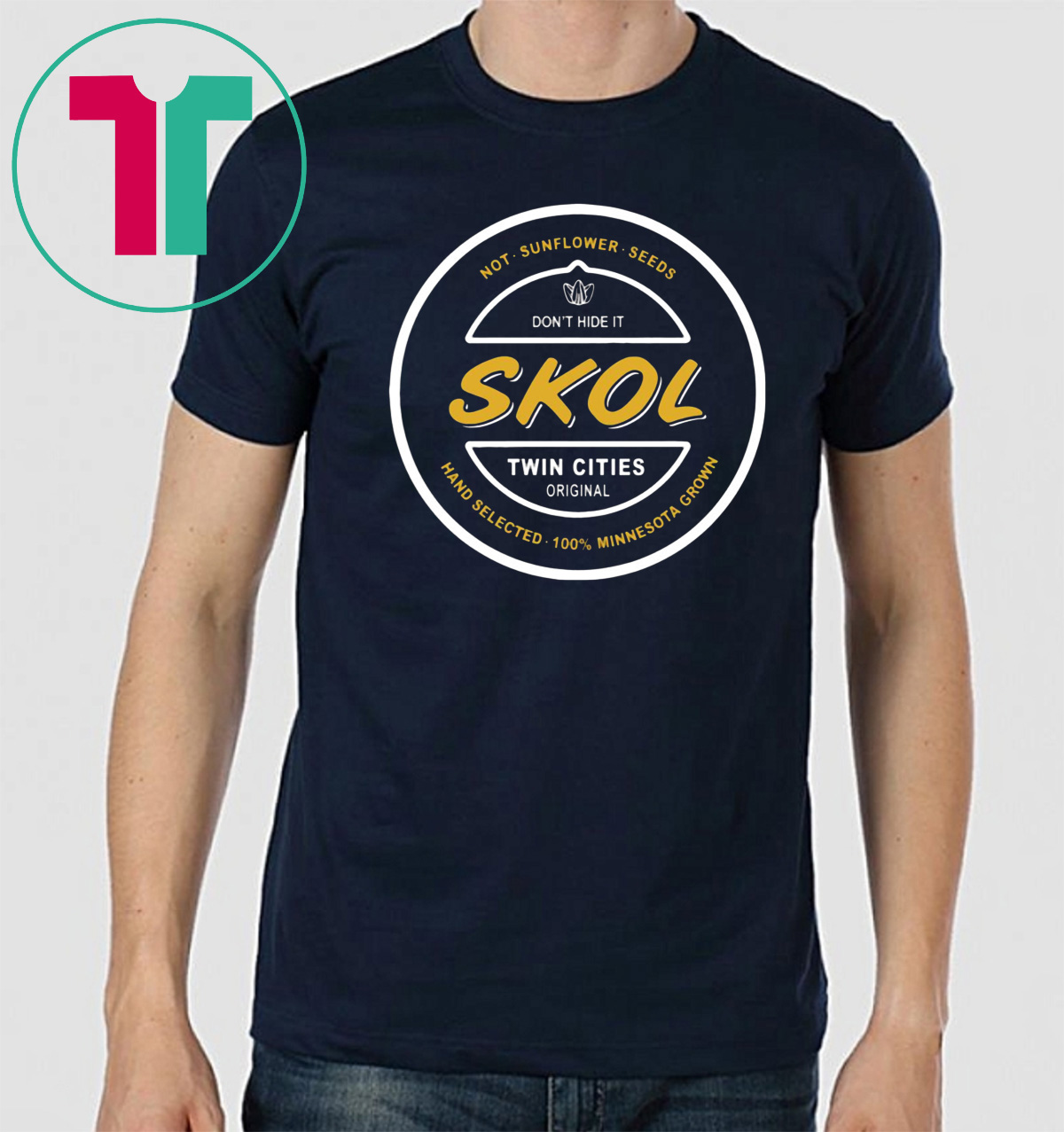 ed7ed315 Skol Seeds Minnesota Vikings Football T-Shirt