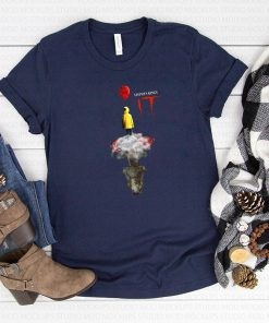 Stephen kings IT georgie denbrough reflection pennywise shirt