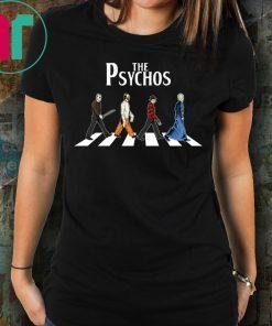 The Psychos Psychodynamics Horror Characters Shirt