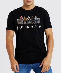 Funny Horror Characters Friends TV Show T-Shirt