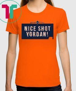 Yordan Alvarez Shirt - Nice Shot Yordan, Houston, MLBPA