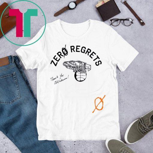 ZerØ Regrets Thank You Honoring Oklahoma T-Shirt