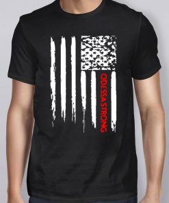 American Flag Midland Odessa Strong T-Shirt