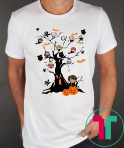 Halloween Harry Potter Tree T-Shirt