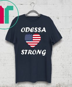 Heart Odessa Strong Victims 2019 T-Shirt