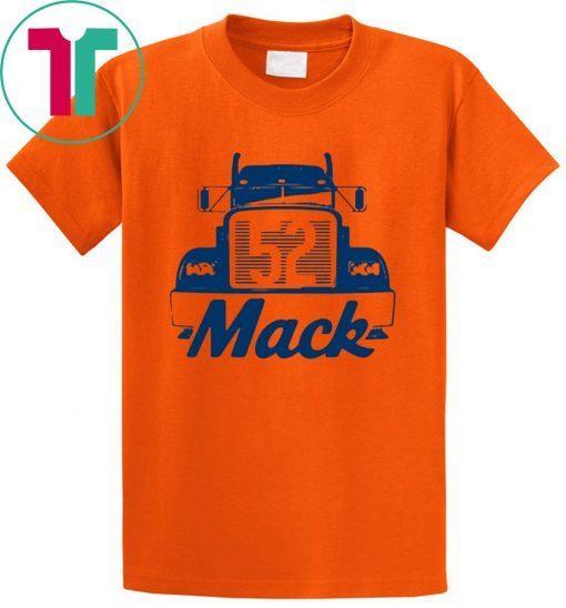 reputable site f4227 23de3 CHICAGO BEARS TEE MACK TRUCK SHIRT KHALIL MACK