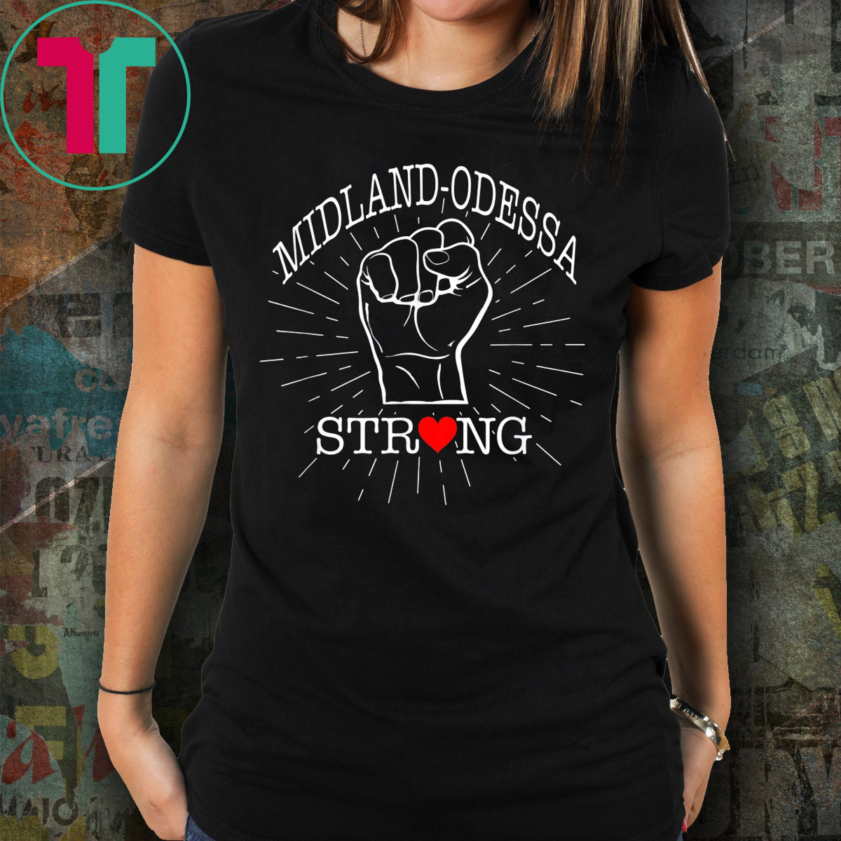Midland Odessa Strong T-Shirt Texas Lover Gift For Men