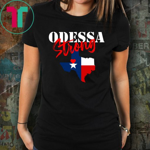 ODESSA STRONG VICTIMS Shirt for Mens Womens Kids