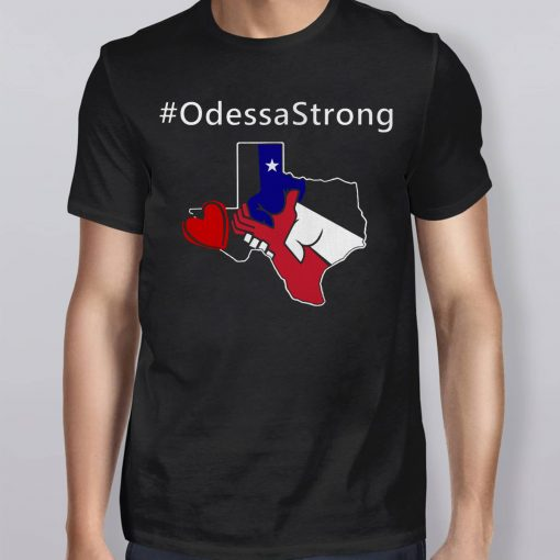 Odessa Strong Pray Support Victims Love T-Shirt