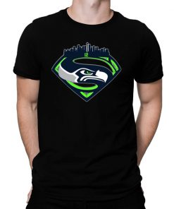 Seattle seahawks superman logo Shirt