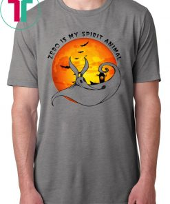 Zero Is my Spirit Animal Halloween Moon Classic T-Shirt