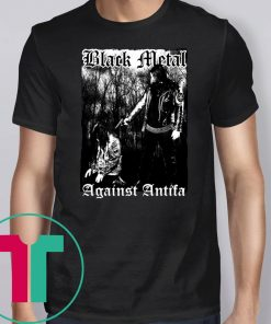 'Black Metal Against Antifa' Behemoth's Nergal Reveals 2019 T-Shirt