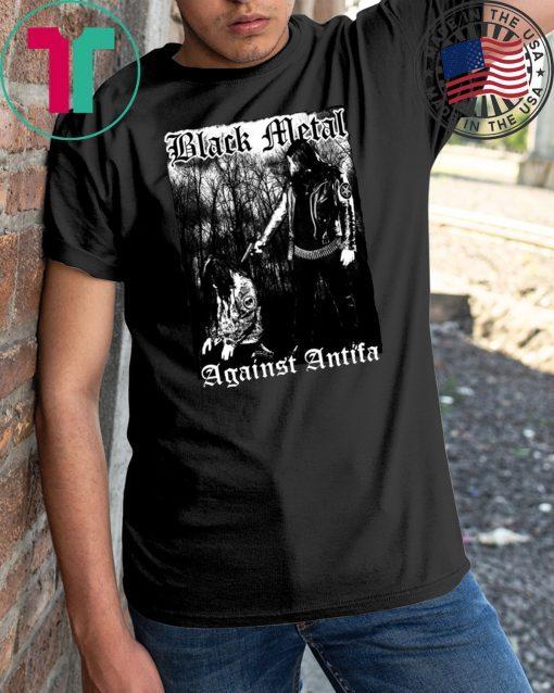 'Black Metal Against Antifa' Behemoth's Nergal Reveals T-Shirt
