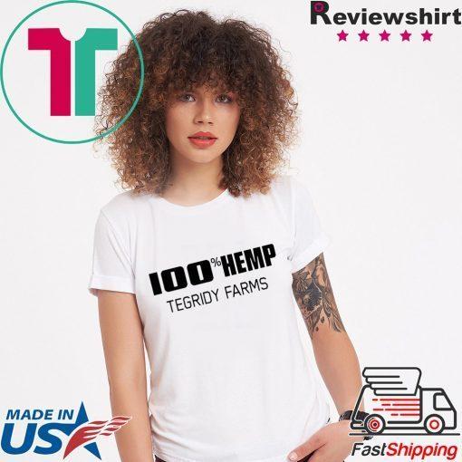 100% Hemp Tegridy Farms Parody Shirt