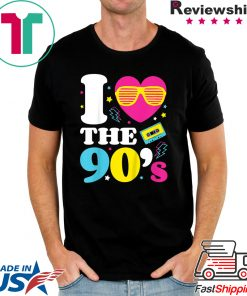1990's 90s TShirt I Heart the Nineties Shirt