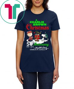 A Charlie Brown Christmas 50th Anniversary Shirts