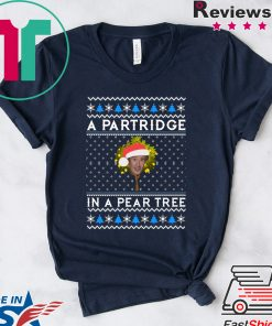 Alan Partridge In a pear tree Christmas T-Shirt