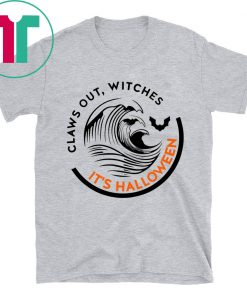 Official Claws Out Witches It's Halloween Shirt
