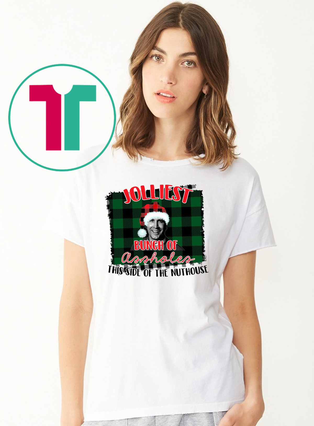 Christmas Vacation Shirts.Jolliest Bunch Of Assholes This Side Of The Nuthouse National Lampoon S Christmas Vacation Shirt Reviewshirts Office