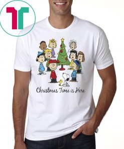 Peanuts Christmas Time Is Here Shirt