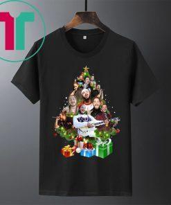 Post Malone Christmas Tree Shirt
