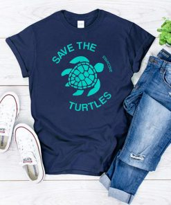 Save the Turtle Vsco, Sea Ocean Beach Lover Gift Aesthetic T-Shirt