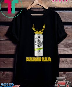 White Claw Natural Lime Sparkling Reinbeer Christmas Shirt