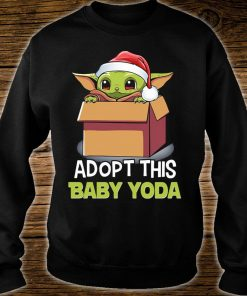 Adopt this Baby yoda Ugly Christmas Sweater