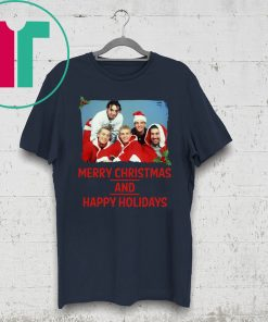 NSYNC Merry Christmas And Happy Holidays Shirts