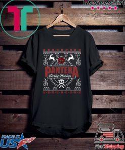 Pantera Fucking Holidays Christmas Sweater Shirt