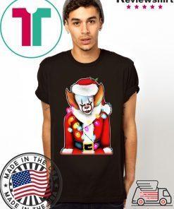 Pennywise Santa Claus Shirt