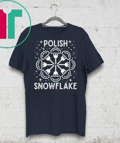 Polish Pierogi Snowflake Christmas Shirt