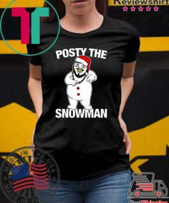 Posty The Snowman shirt
