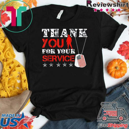 Veterans Day Tees - Thank You for your Service T-Shirt