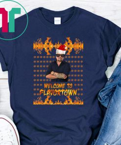 Welcome to Flavortown Guy Fieri Ugly Christmas 2020 Shirt