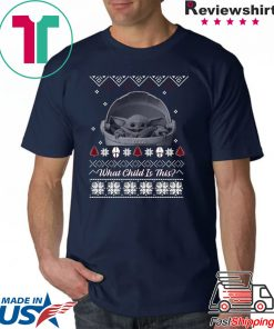 What Child is This Baby Yoda The Mandalorian Christmas 2020 Shirt