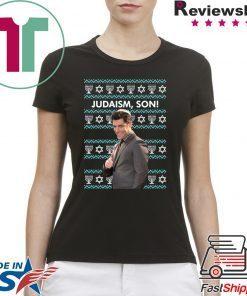 Winston Schmidt Judaism Son Christmas T-Shirt